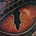 Custom Reptile Eye Tattoo Design Thumbnail